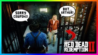 What Happens If Arthur DOESN'T Break Micah Out Of Jail In Red Dead Redemption 2? (SECRET Outcome)