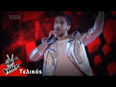 Στέλιος Ιωακείμ - Superstision | Τελικός | The Voice of Greece