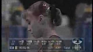 Monica Rosu (ROM) - 2003 Worlds - EF VT