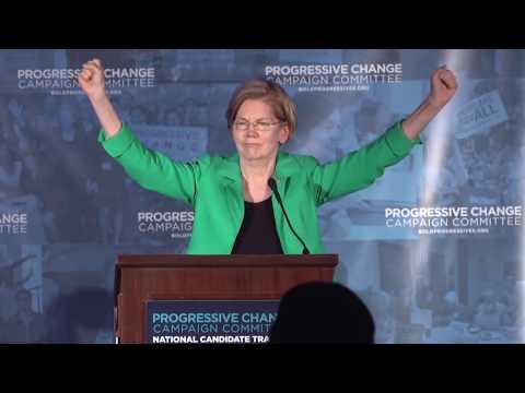 Sen. Elizabeth Warren Keynote at National Candidate Training 2018