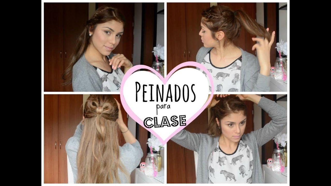 Simple y con estilo peinados para clases Galería de tendencias de coloración del cabello - Peinados lindos para Clase ! ♡ - Pautips - YouTube