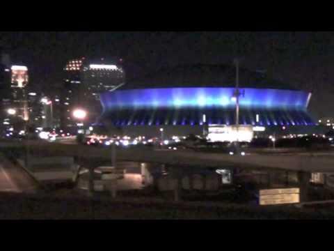 Louisiana Night at the Louisiana Superdome with Stephan Wanger