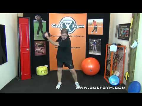 Golf Fitness  Golf Exercises And Workout With 8 Pound Power