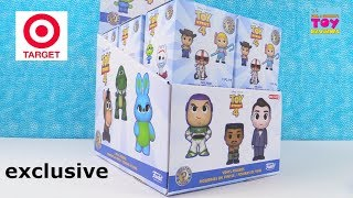 Toy Story 4 Movie Funko Mystery Minis Figures Target Exclusive Unboxing | PSToyReviews