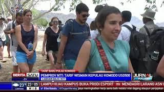 Tarif Wisman ke Pulau Komodo Bakal Naik US$ 500