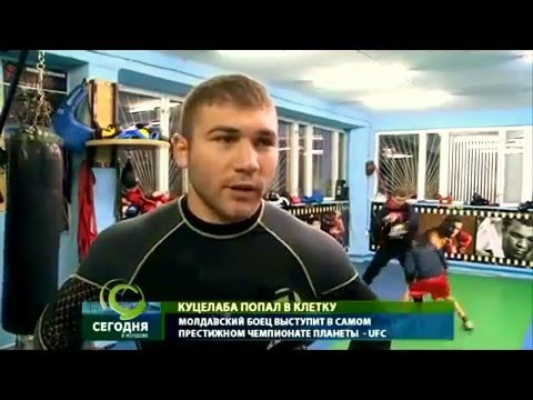 Ion Cuţelaba first fighter to represent Moldova in UFC competition