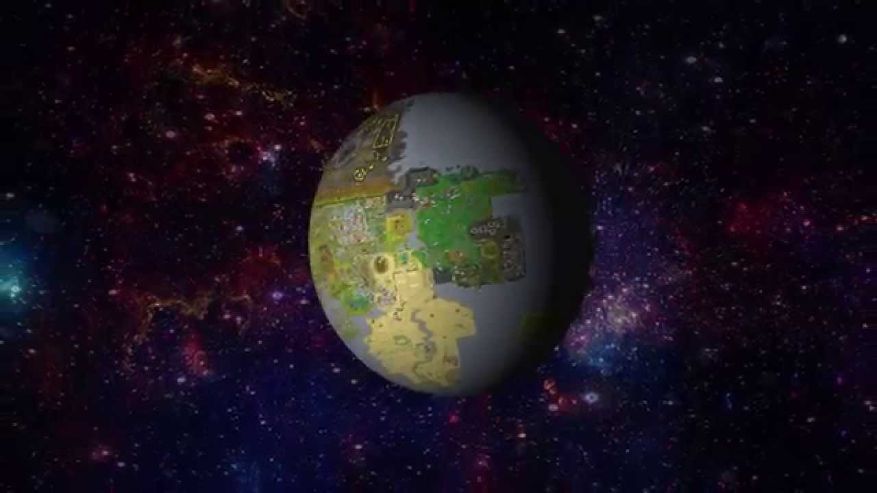 runescape worldmap 3d as a globe youtube