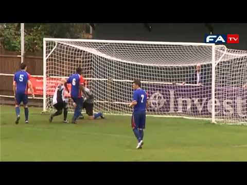 The FA Cup 2011 Extra Preliminary Round - Molesey v Hartley Wintney