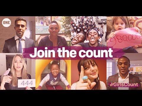 EVERY GIRL COUNTS - Join the #GirlsCount campaign
