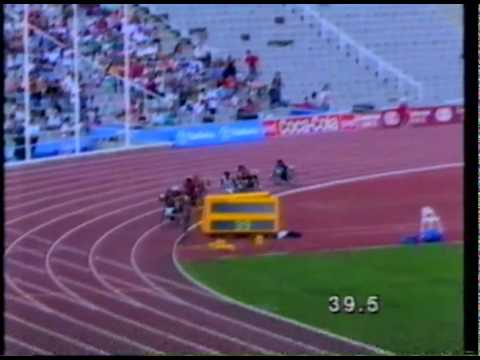 1992 Paralympics 800m Wheelchair Final