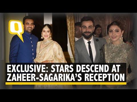 Virat, Anushka's Bhangra Lights up Zaheer-Sagarika's Wedding Reception | The Quint