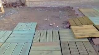 Террасная доска из лиственницы: монтаж, укладка и крепление, видео и цена за м2