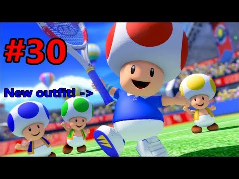 Toad! Singles and Doubles Tournaments!!! - Mario Tennis Aces (Online) Episode 30