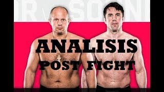 Fedor vs Sonnen Analisis Post Fight + Detalle en la falla de Sonnen 🔥🔥🔥