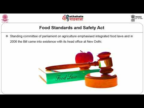 Food Laws and Standards