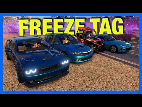 Forza Horizon 3 Online : Freeze Tag Mini Game!!