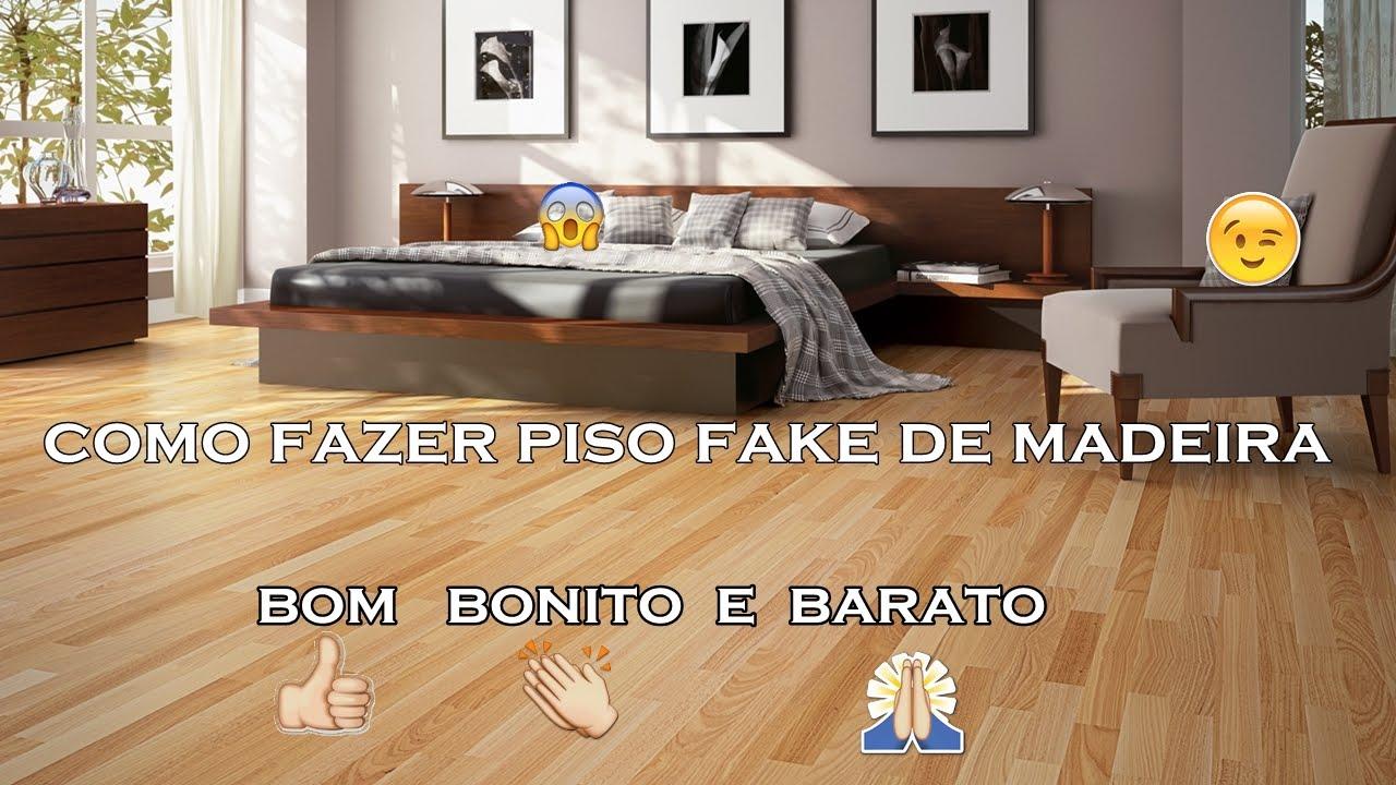 Preferência PISO FAKE DE MADEIRA COM PAPEL CONTACT - YouTube ZU82