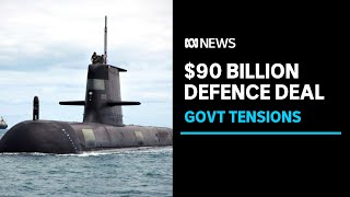 French submarine boss confronted over $90 billion defence project | ABC News