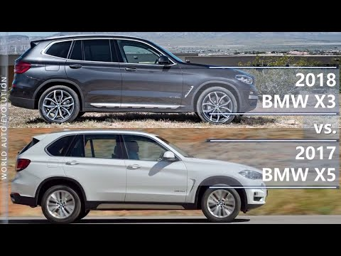 2018 Bmw X3 Vs 2017 Bmw X5 Technical Comparison Youtube