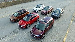 Mazda CX-5 vs Mitsubishi Outlander vs Hyundai Tucson vs Kia Sportage vs Honda CR V vs Ford Escape