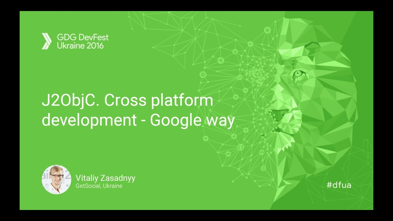 J2ObjC  Cross platform development Google way - Vitaliy Zasadnyy