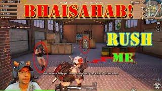 Bhaisahab kya match tha   Mobile PUBG   open circle intense game