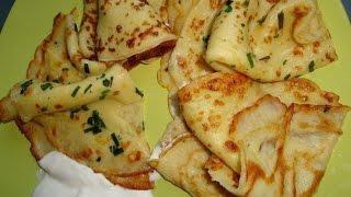 Тонкие  картофельные  блины.
