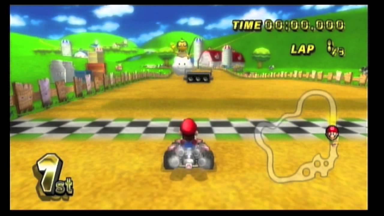 Mario kart wii 50cc mushroom cup youtube - Mario kart wii voiture ...