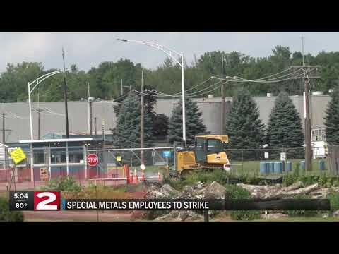 Special Metals union employees set to strike