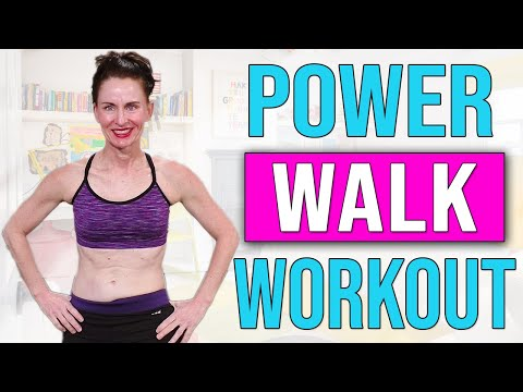 Indoor Power Walk Workout ♦️ Walk for Weight Loss ♦️ Walk your way to HEALTH ♦️AngiefitnessTV