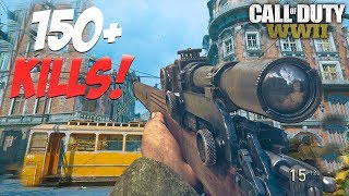 153 KILLS! SNIPER ONLY GAMEPLAY!!! (Call of Duty: WW2 MULTIPLAYER)