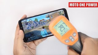 Moto One Power - Extreme Gaming, Battery & Temperature Test [PUBG, Asphalt 9, GTA SA, NFS, ROS] 🔥