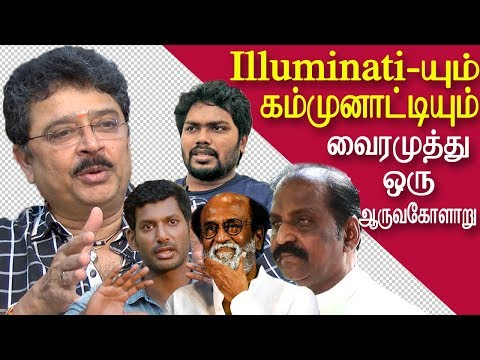 S. ve. Sekar takes on vairamuthu, rajini, vishal & ranjith t