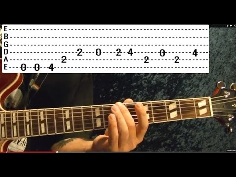 Ring of Fire by JOHNNY CASH - Guitar Lesson