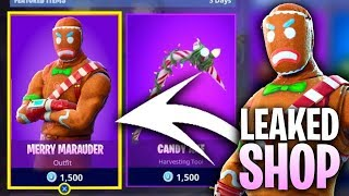 Fortnite MERRY MARAUDER SKINS RETURN! Rare skins coming back