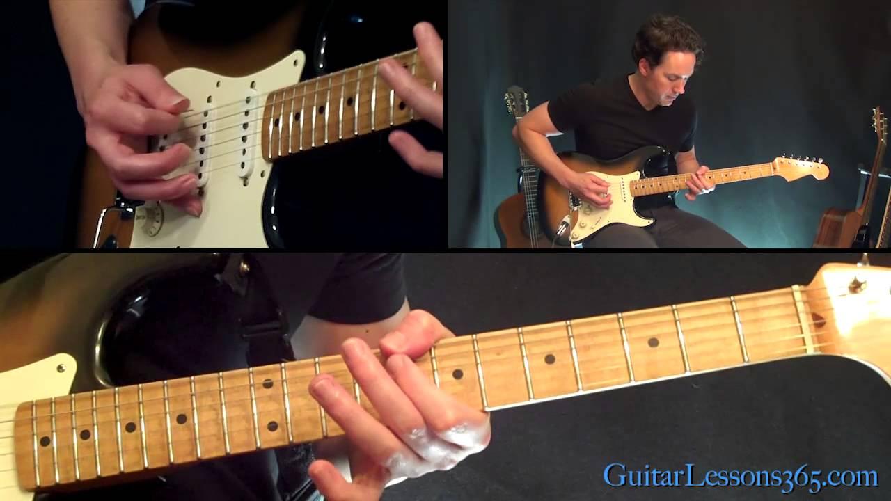 Sharp Dressed Man Guitar Lesson Zz Top Famous Riffs Youtube