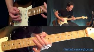 Sharp Dressed Man Guitar Lesson - ZZ Top - Famous Riffs