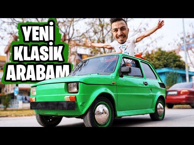 YENİ ÜSTÜ AÇIK KLASİK ARABAM!!