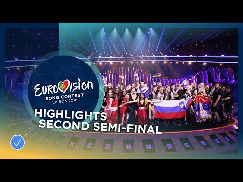 Highlights of the second Semi-Final - Eurovision 2018
