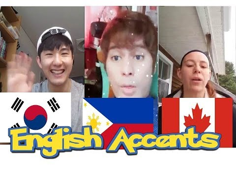 International Accents in English