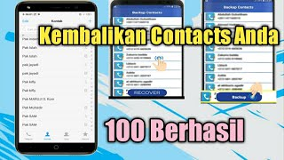How to Restore Deleted Contacts.