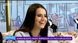 Adina Buzatu si fiica ei, invitate La Maruta