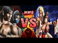 Kitana and Liu kang VS Andy and Mai - Mortal Kombat vs King Of Fighters
