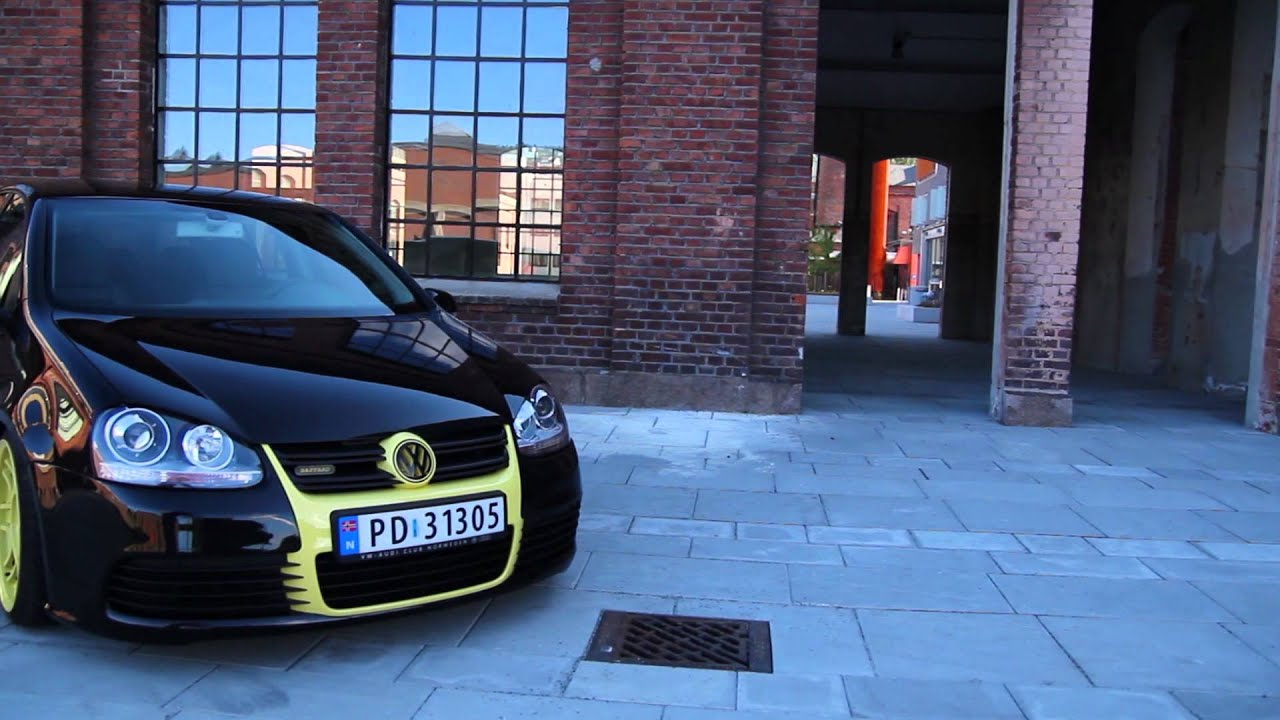 Vw Golf Black Amp Yellow Quot Bastard Quot Youtube