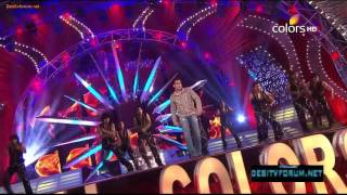 Salman Khan Dance Performance On Mera Hi Jalwa !! 18th Annual Colors Screen Awards (2012)