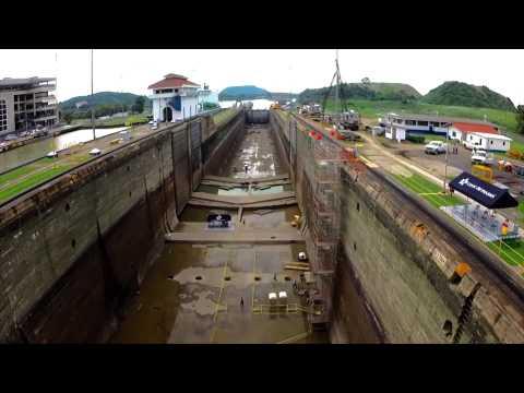 Dry-Chamber Overhaul at Panama Canal Miraflores Locks