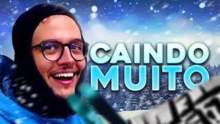 CAINDO MUITO DE SNOWBOARD  || QUERIDO DIARIO #07 (FINAL CANADÁ)