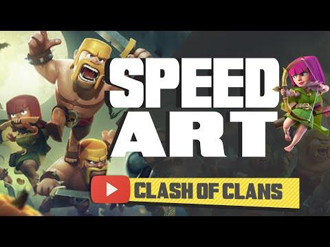 Speed Art - Clash of Clans Banner (Photoshop)