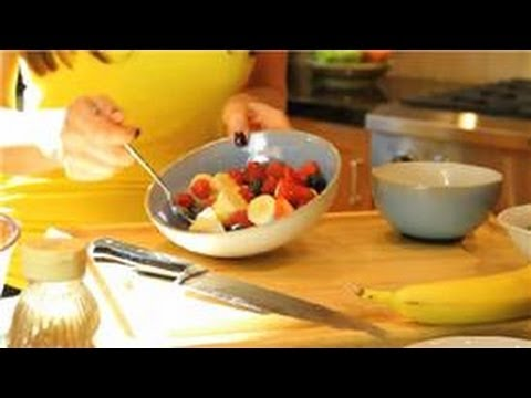 Healthy Recipes : Gourmet Breakfast Fruit Salad