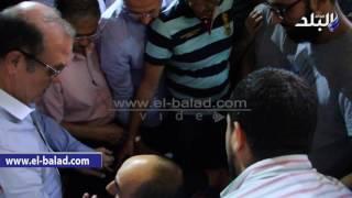 بالفيديووالصور..عائلة عثمان أبو لبن تؤدي صلاة الغائب على أرواح ذويهم